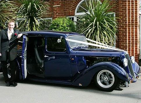 Austin Goodwood Street Hot Rod Wedding Car Hire Northamptonshire