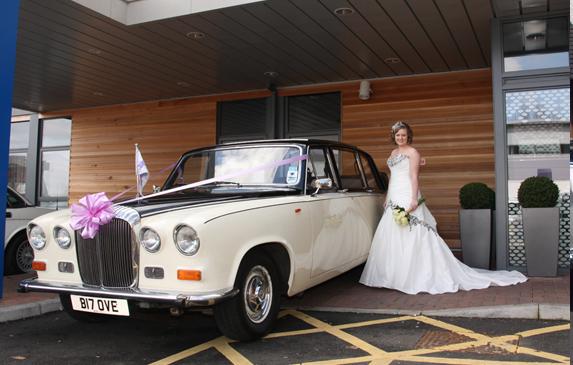 Daimler State Landaulette Wedding Car Hire Northamptonshire