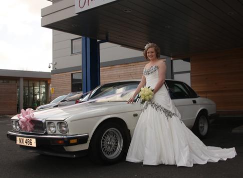 Jaguar XJ6 Wedding Car Hire Northamptonshire